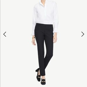 Ann Taylor Twill Ankle Pant
